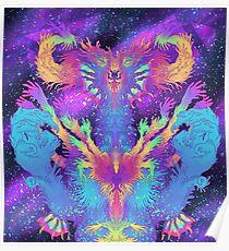 Cosmic Dragon Poster
