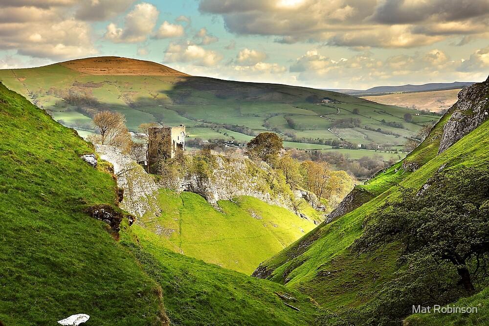 Peveril Castle, Castleton by Mat Robinson