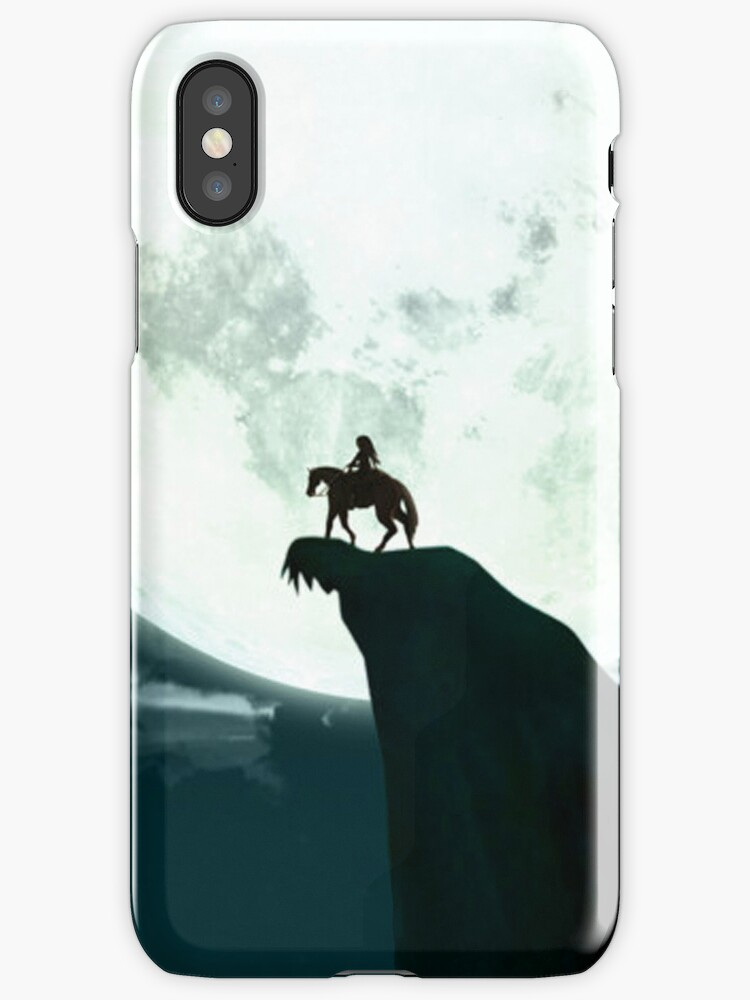 Zelda on a Clifftop Silhouette Design by TalkThatTalk
