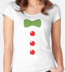Gingerbread Man Costume Women's Fitted Scoop T-Shirt