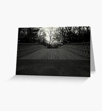 Bow Bridge - Central Park Greeting Card