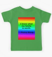 Penny Wong's Family Kids Tee