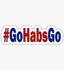 #GoHabsGo Sticker