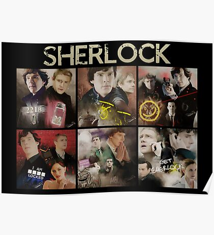 Seasons . Sherlock Poster