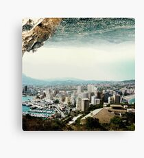 The Edge of a Parallel World Canvas Print