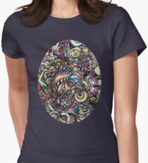 Wake UP 432hz Womens Fitted T-Shirt