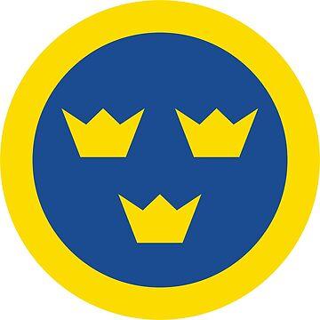 Swedish Roundel by MagnumCreative