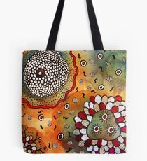 Watercolor and Doodles Tote Bag