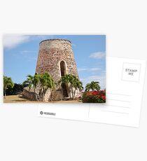 Caribbean Sugar Mill  Postcards