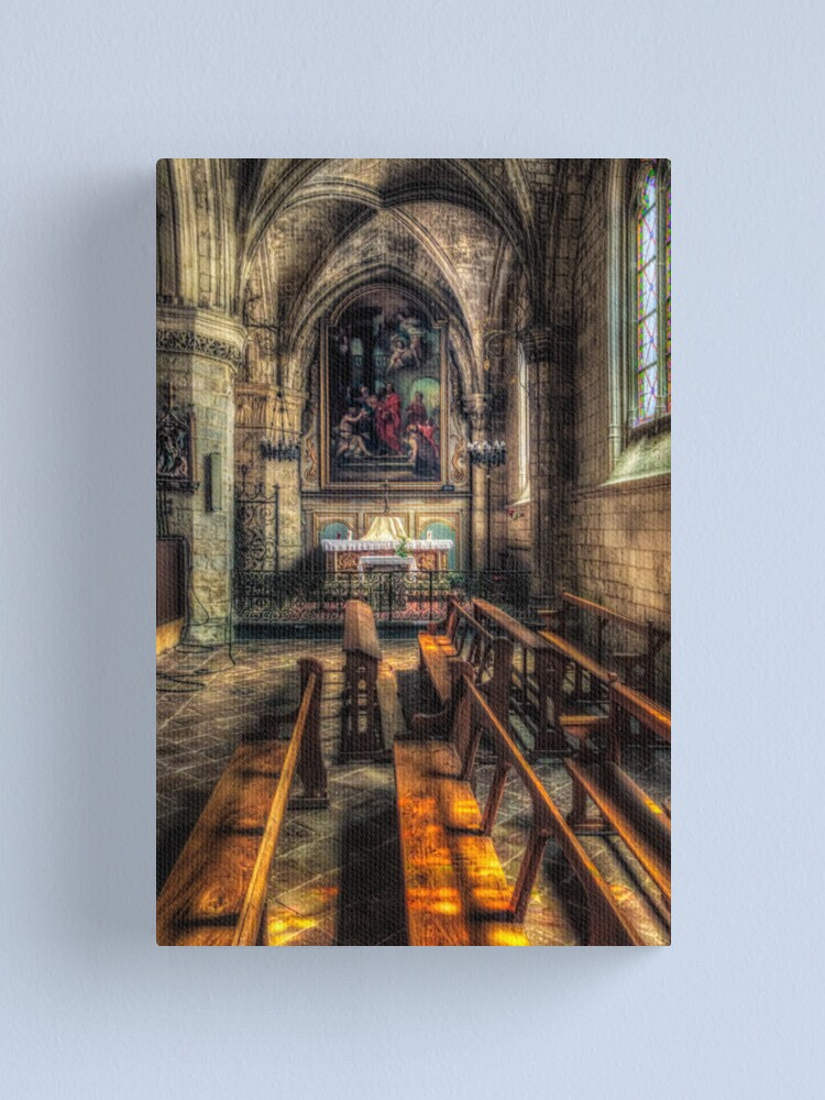 Alternate view of St Salve Canvas Print
