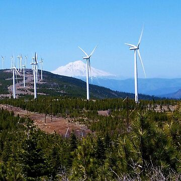 Futurescape - Hatchet Mountain Wind Farm, Shasta County, CA by RKreklow