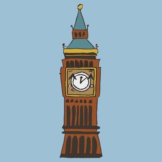 Big Ben Cartoon | www.imgkid.com - The Image Kid Has It!