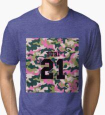Girls' Generation (SNSD) YURI 'PINK ARMY' Tri-blend T-Shirt
