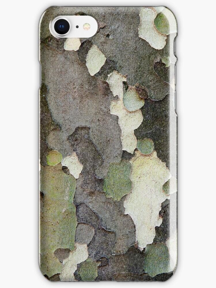 Tree Bark Camouflage (Sycamore Tree) by VanOostrum