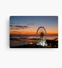 Brighton Nightscape III Canvas Print