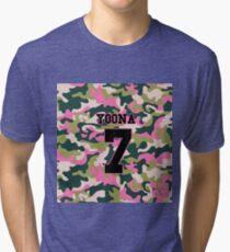 Girls' Generation (SNSD) YOONA 'PINK ARMY' Tri-blend T-Shirt