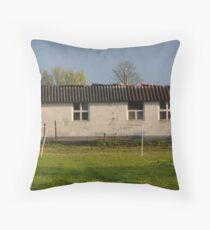 Just A Barn Throw Pillow