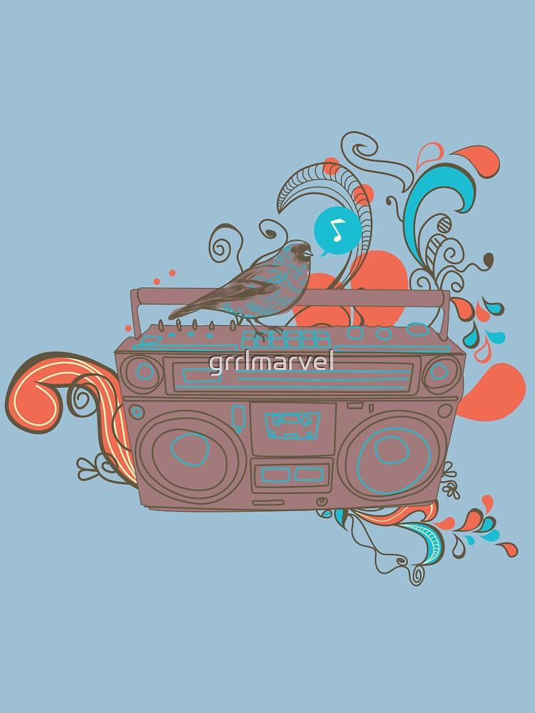 Retro Music by grrlmarvel