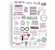 Quot Tumblr Transparent Collage Quot Stickers By Internetokay