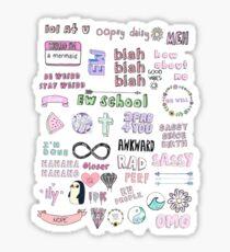 Tumblr Transparent Collage Sticker