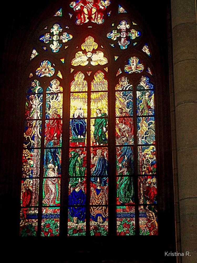St. Vitus Cathedral-Prague,Czech Republic by Kristina R.