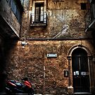 An Alley in Caltagirone, Sicily by Anthony Vella