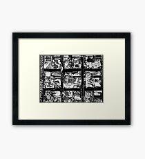 Letter boxes Framed Print