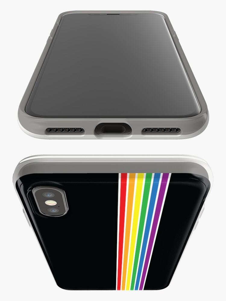 Alternative Ansicht von Gay Pride Flag iPhone-Hülle & Cover