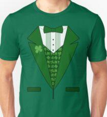 Irish Green Tuxedo T-Shirt T-Shirt