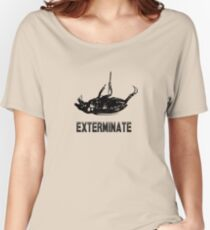 Exterminate T-shirt/Hoodie black Women's Relaxed Fit T-Shirt