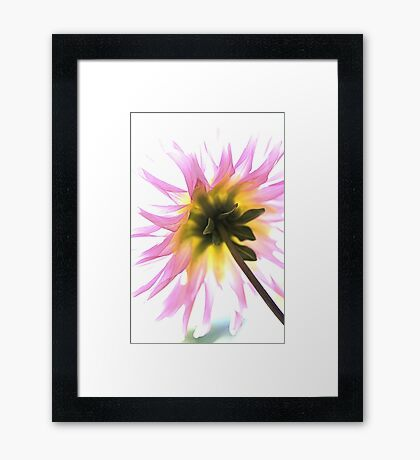 High On LIFE Framed Print