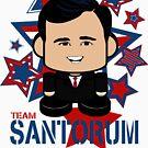 Team Santorum Politico'bot Toy Robot by Carbon-Fibre Media