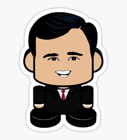 Ricky John Politico'bot Toy Robot 1.0 Sticker