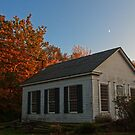 Millbrook Village in Autumn by Debra Fedchin