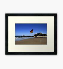 Currumbin Beach Surf Club Elephant Rock Framed Print