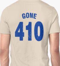 Team shirt - 410 Gone, blue letters Unisex T-Shirt
