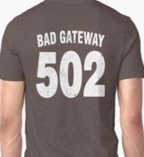 Team shirt - 502 Bad Gateway, white letters T-Shirt