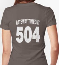 Team shirt - 504 Gateway Timeout, white letters T-Shirt