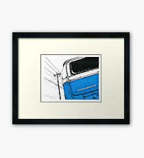 Blue Bay Framed Print