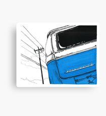 Blue Bay Canvas Print