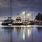 Port Albert Marina by Jennifer Craker