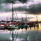 Port Albert Boats  by Jennifer Craker