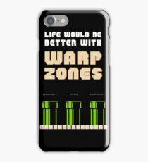 warp zone  iPhone Case/Skin