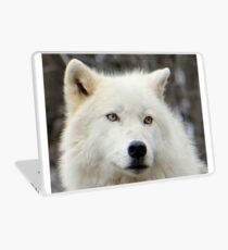 Arctic Wolf Close Up Laptop Skin