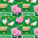 Farm Animals - iPhone case by Beesty