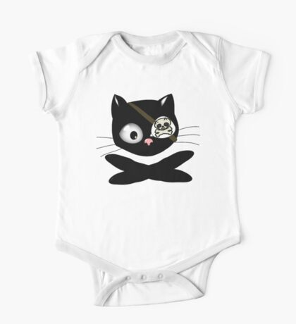 Pirate Kitty with Eye Patch Kids Clothes