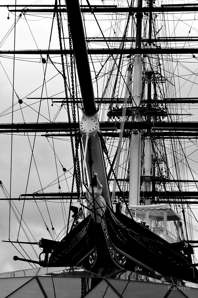 The Cutty Sark Bow by KarenM