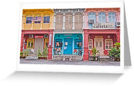 Georgetown Quirky Street. by Howard  Boyd