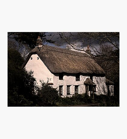 Thatched Cottage Photographic Print