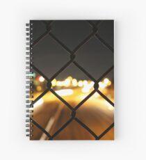 Night Light Bokeh Spiral Notebook